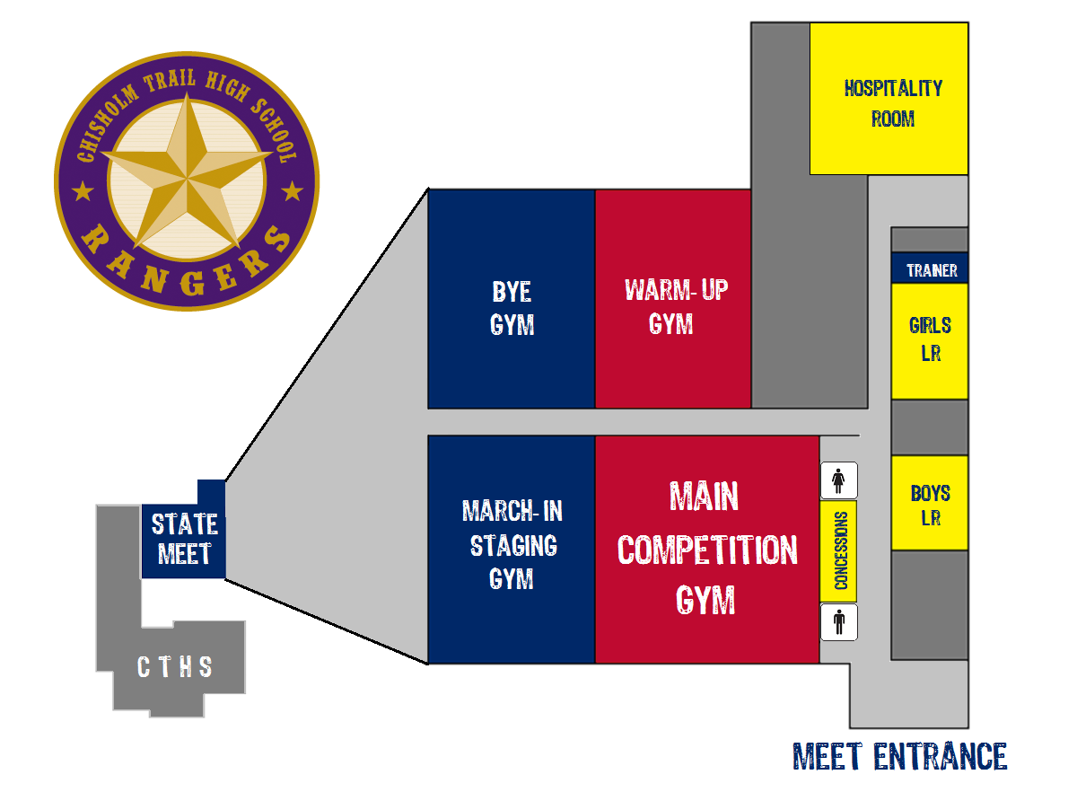 Red Mountain High School Campus Map.Texas High School Gymnastics Championships